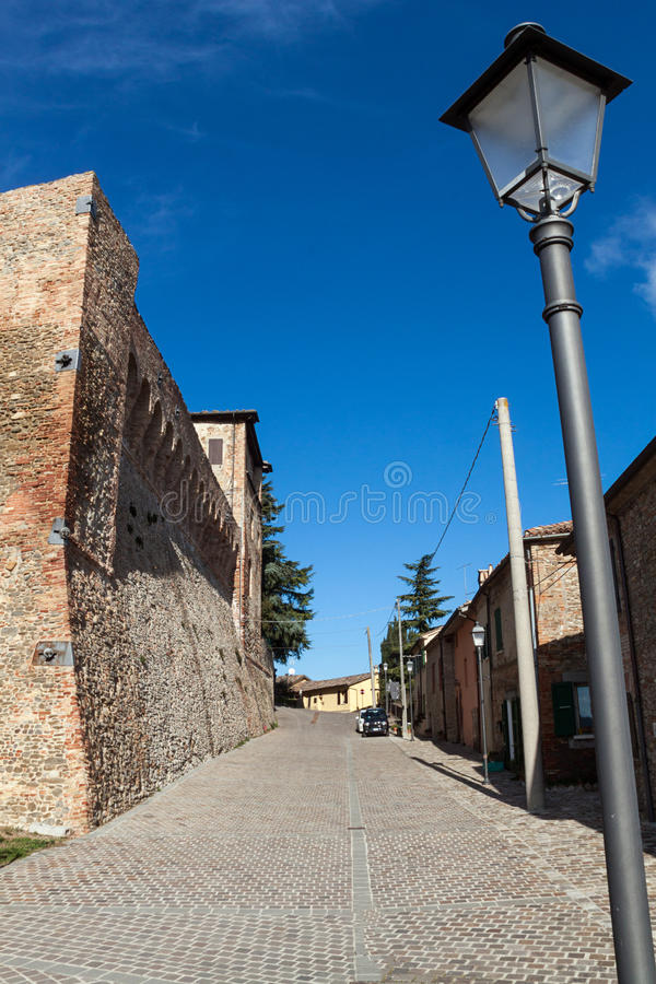 Het kasteel van Sorrivoli royalty-vrije stock foto's