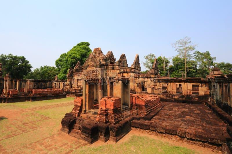 Het Kasteel van Tam van Maung royalty-vrije stock afbeelding