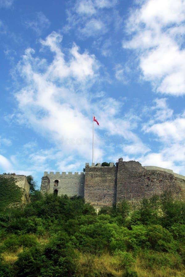 Het kasteel van Trabzon stock foto