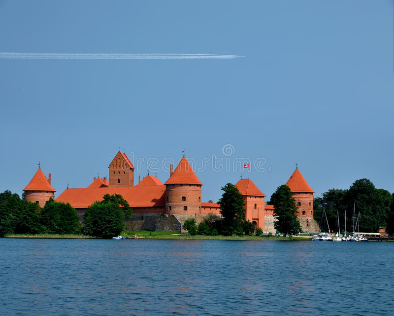Het kasteel van Trakai royalty-vrije stock fotografie