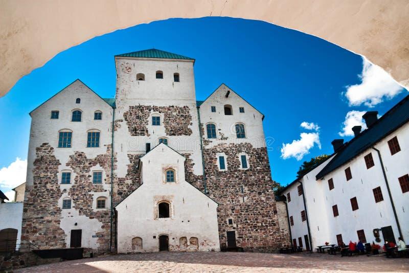 Het kasteel van Turku royalty-vrije stock foto