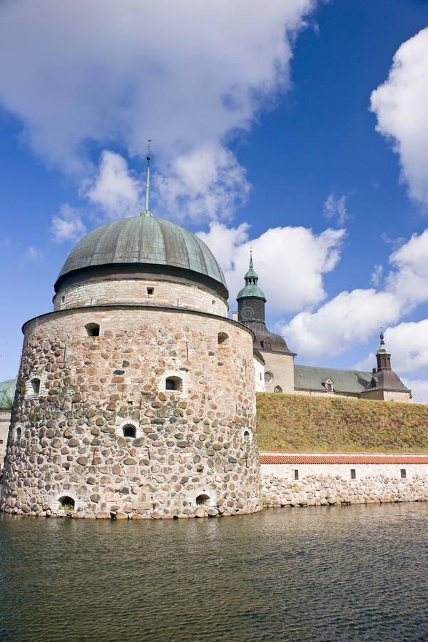 Het kasteel van Vadstena stock fotografie