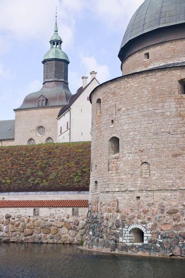 Het kasteel van Vadstena royalty-vrije stock foto's