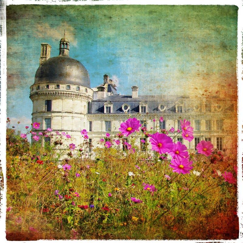 Het kasteel van Valencay royalty-vrije stock fotografie