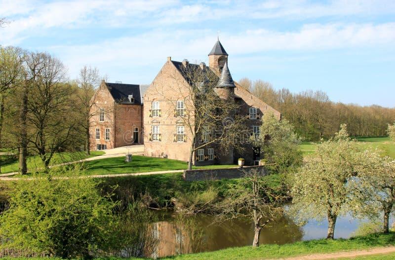 Het Kasteel van Waardenburg in Nederland stock afbeelding