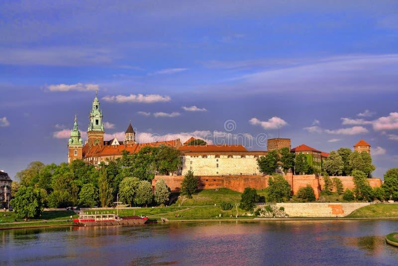 Het Kasteel van Wawel stock foto's