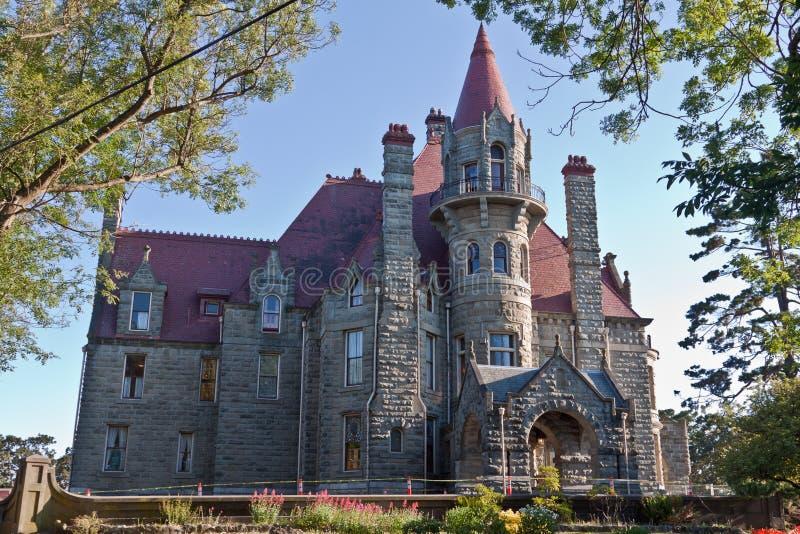 Het Kasteel Victoria Canada van Craigdarroch royalty-vrije stock foto's