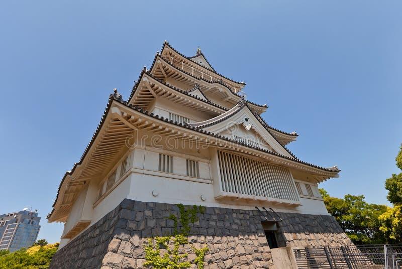 Het kasteel volksmuseum van Chiba in Chiba, Japan royalty-vrije stock afbeeldingen