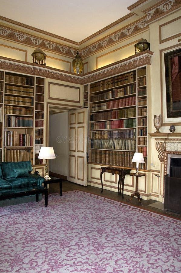 Het Kasteelbibliotheek van Leeds stock fotografie
