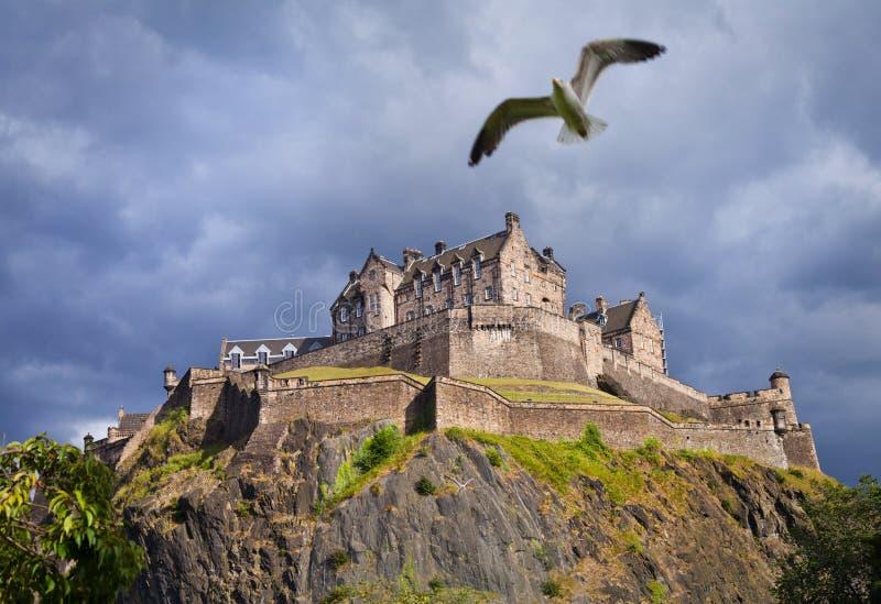 Het Kasteelonweer van Edinburgh stock foto's