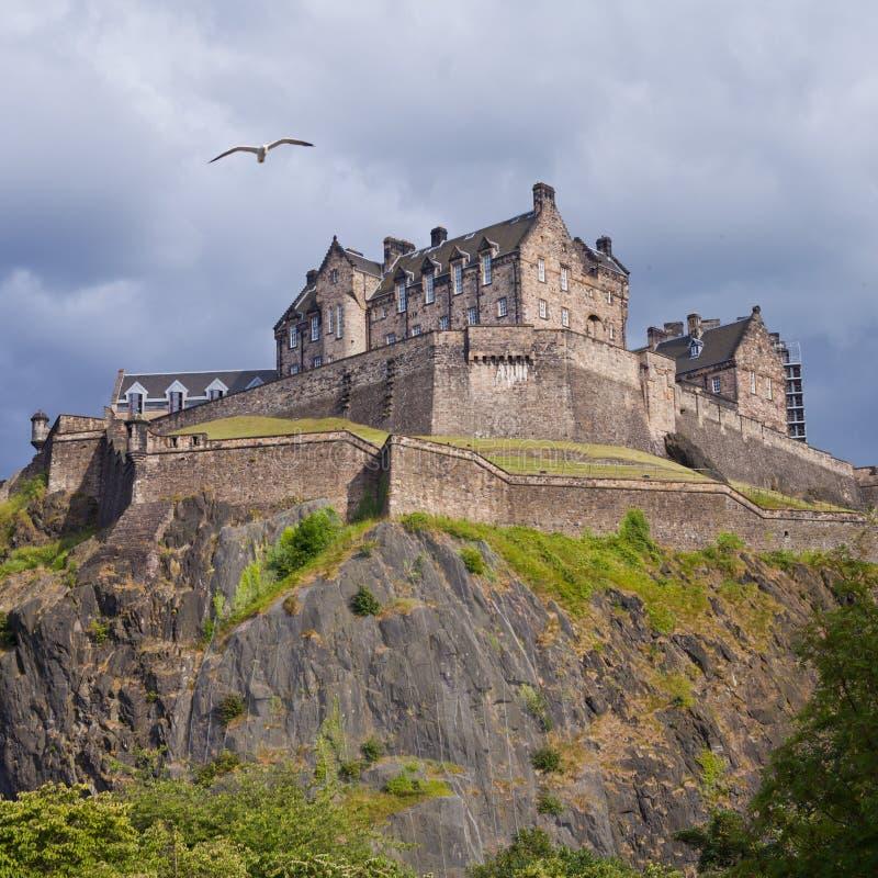 Het Kasteelonweer van Edinburgh stock fotografie