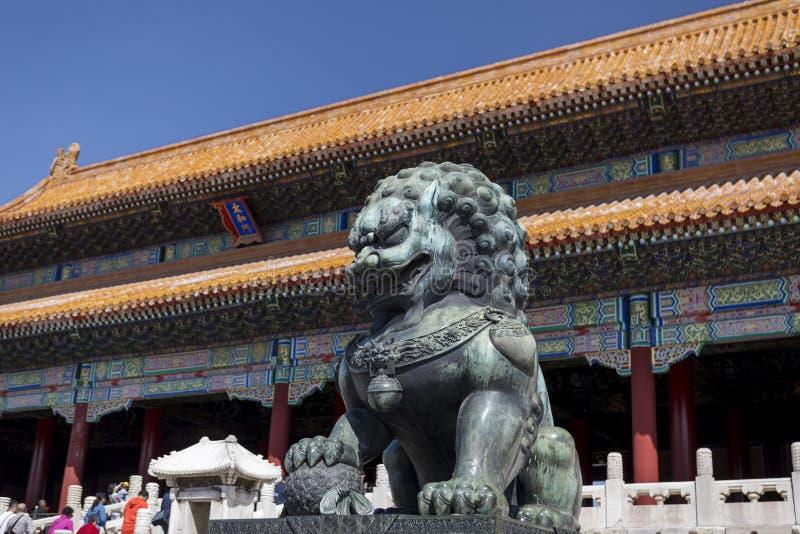 Het Keizerpaleis, Peking, China stock afbeelding