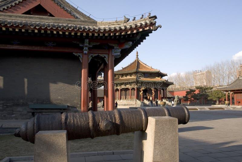 Het KeizerPaleis van Shenyang royalty-vrije stock fotografie