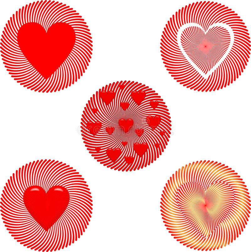 Het kenteken van de Dag van de valentijnskaart royalty-vrije stock foto's