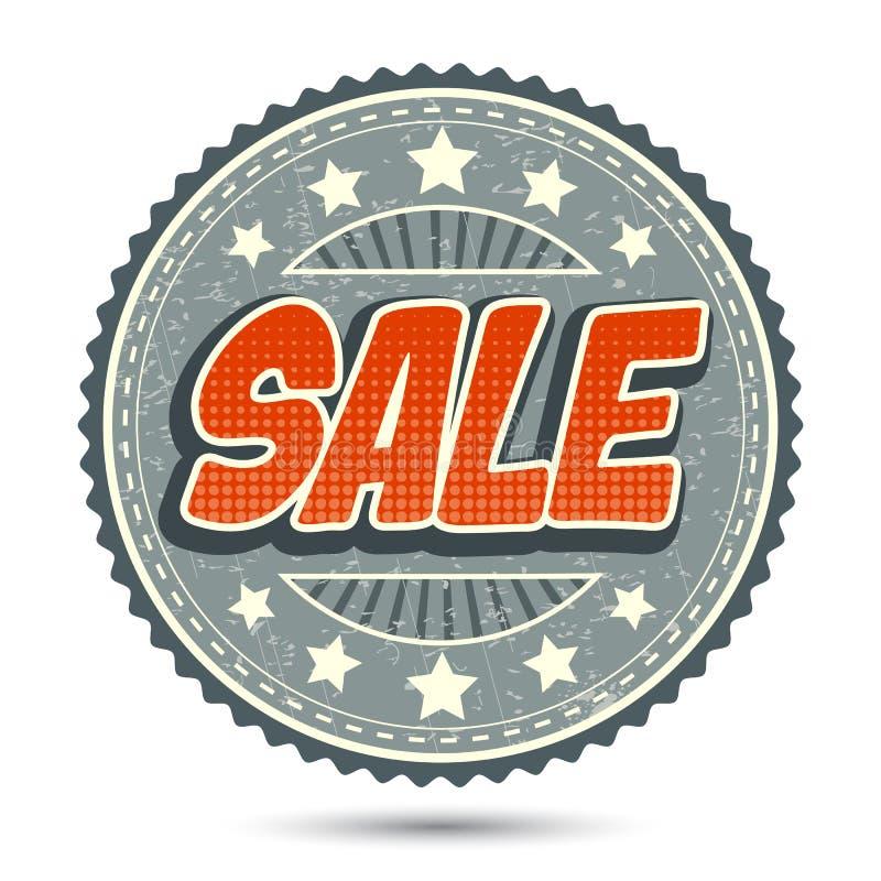Het Kenteken van de verkoop stock illustratie