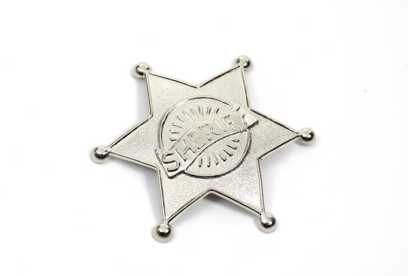 Het Kenteken van sheriffs stock fotografie