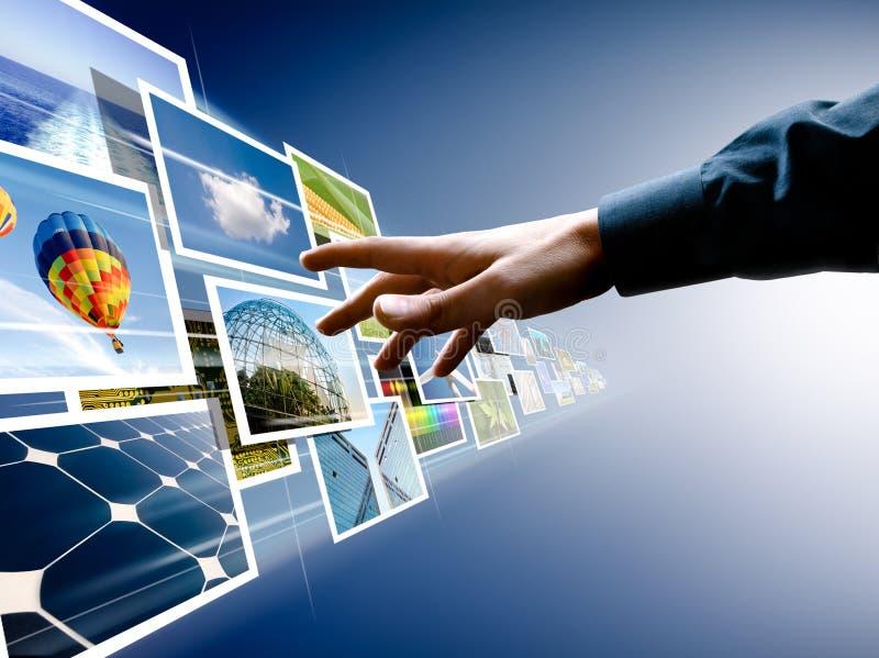 Het kiezen van beeldenstroom stock fotografie
