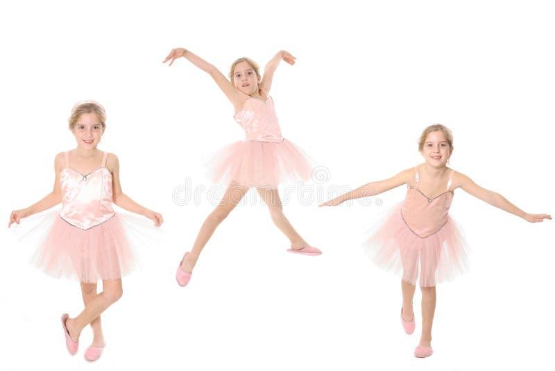 Het kind van de ballerina stock foto's