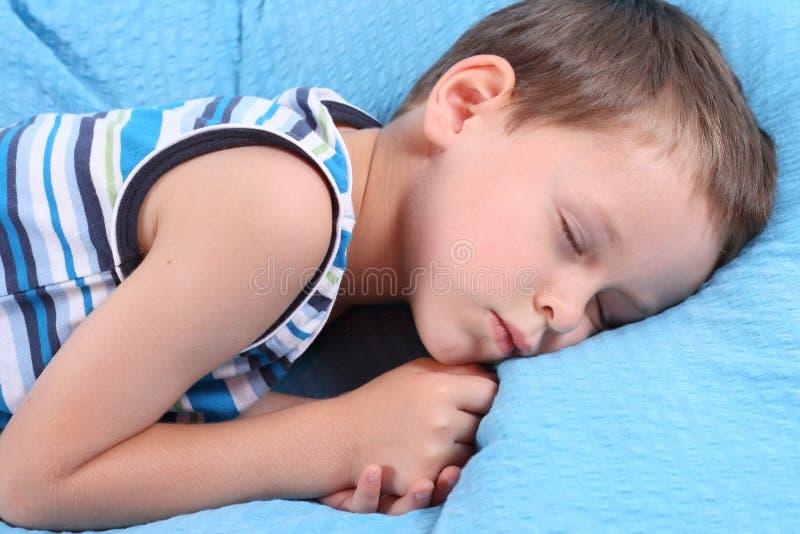 Het kind van de slaap stock foto's