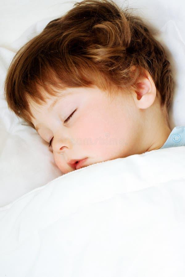 Het kind van de slaap royalty-vrije stock afbeeldingen