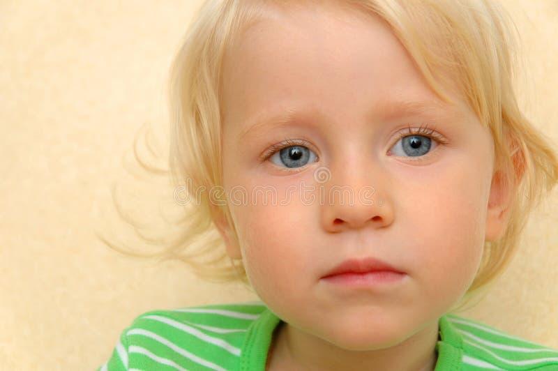 Het kind van het portret stock fotografie