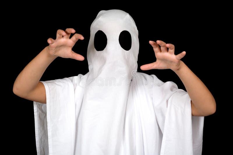 Het kind van het spook stock fotografie