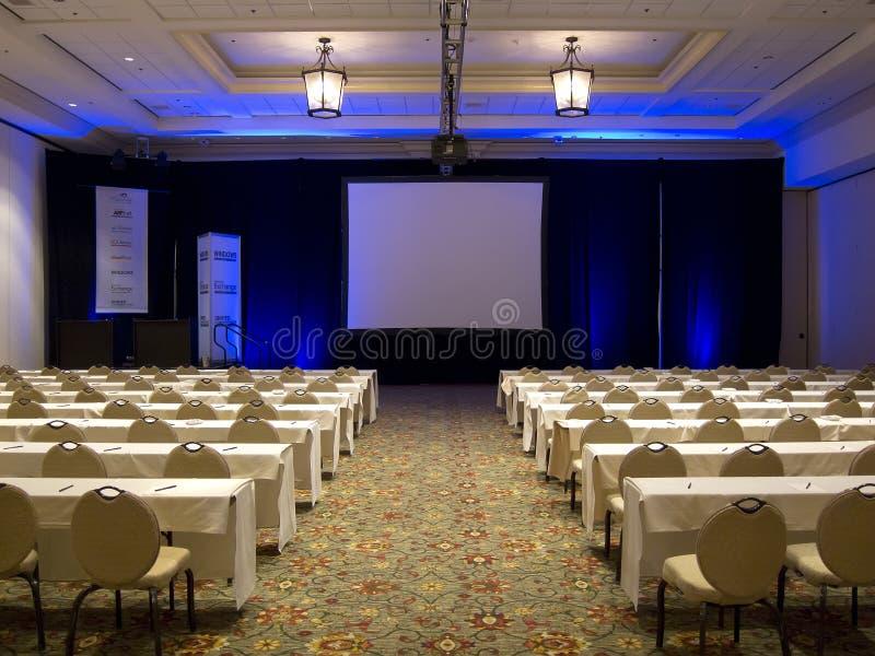 Het Klaslokaal van de conferentie stock afbeeldingen