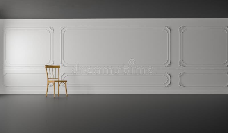 Het klassieke & Moderne Leven/3D geeft Beeld terug stock foto's