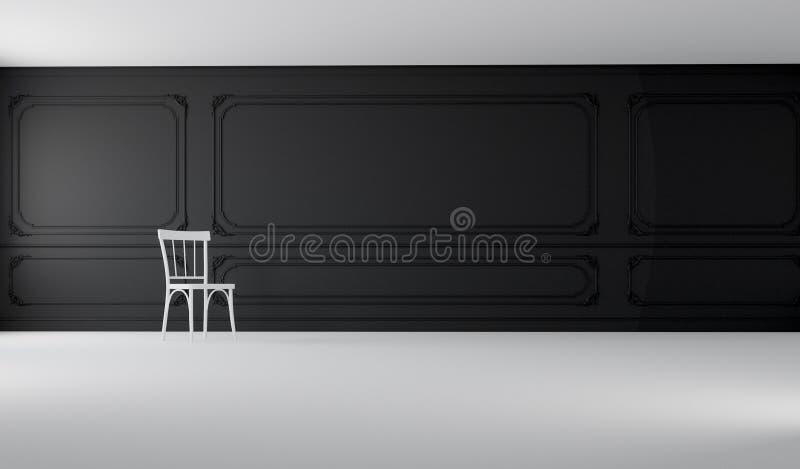 Het klassieke & Moderne Leven/het 3D Teruggeven stock afbeeldingen