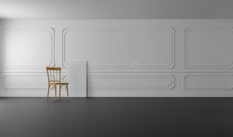 Het klassieke & Moderne Leven/het 3D Teruggeven royalty-vrije stock afbeelding