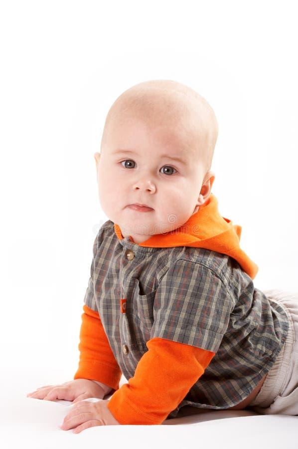 Het Kleine Baby Stellen Gratis Stock Afbeelding