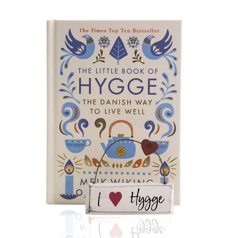 Het Kleine boek van Hygge royalty-vrije stock afbeeldingen