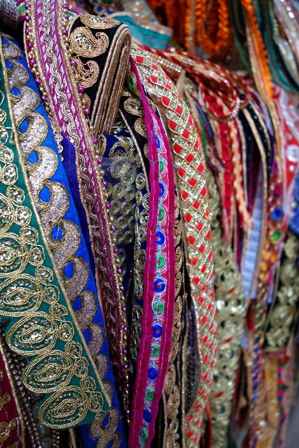 Het kleurrijke Decoratieve Lint Scherpen royalty-vrije stock fotografie