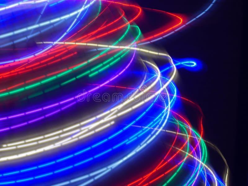 Het kleurrijke lichte schilderen royalty-vrije stock fotografie