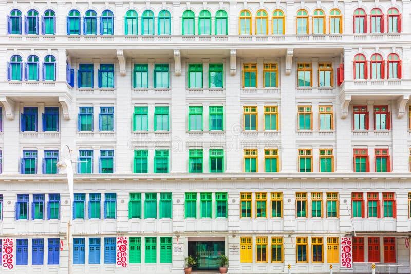 Het kleurrijke opbouwen van Ministerie van cultuur, gemeenschap en de jeugd binnen stock afbeeldingen