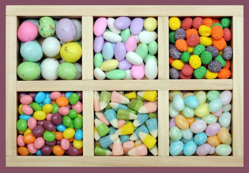 Download Het Kleurrijke Suikergoed Van Pasen Stock Afbeelding - Afbeelding bestaande uit groen, kleurrijk: 29511357