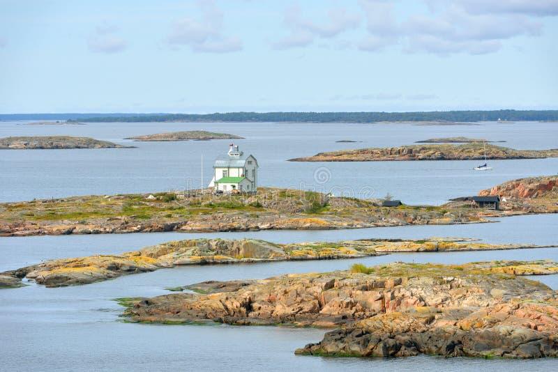 Het klintar eiland van Kobba Alandeilanden royalty-vrije stock foto's