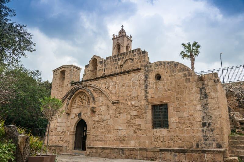 Het Klooster Cyprus van Ayianapa stock foto's