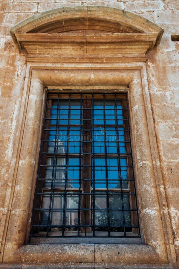 Het Klooster van Agia Triada in Kreta, Griekenland royalty-vrije stock afbeeldingen
