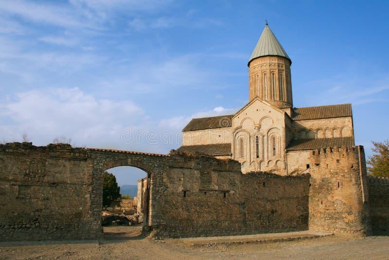 Het Klooster van Alaverdi stock fotografie