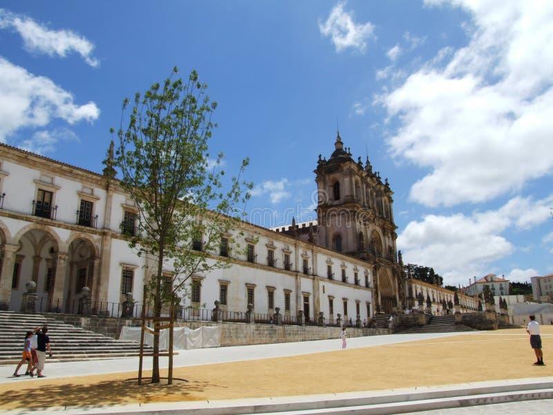 Het klooster van Alcobaça stock foto