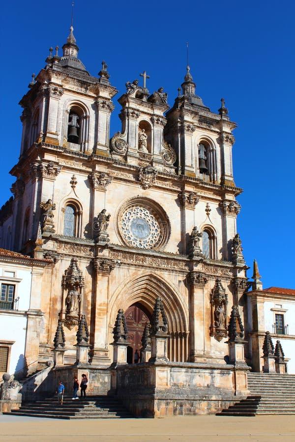 Het klooster van Alcobaca, Portugal stock fotografie