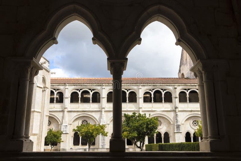 Het klooster van Alcobaca, Portugal royalty-vrije stock afbeelding