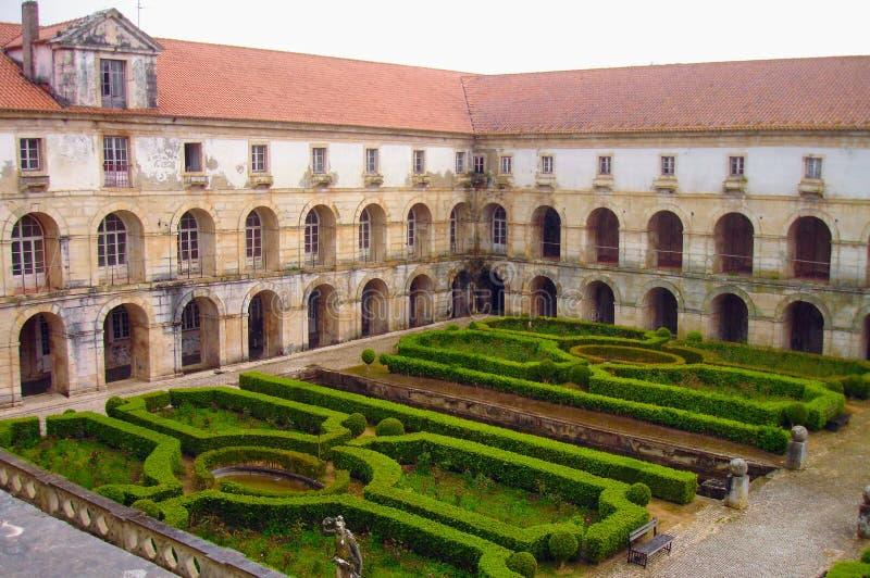 Het klooster van Alcobaca, Portugal royalty-vrije stock foto