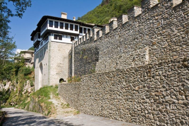 Het Klooster van Bigorski stock foto's