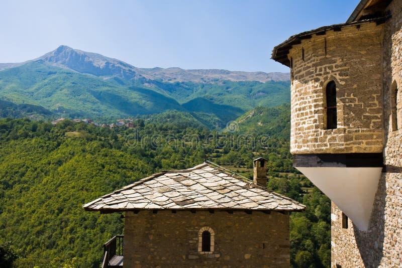 Het Klooster van Bigorski van Jovan stock fotografie