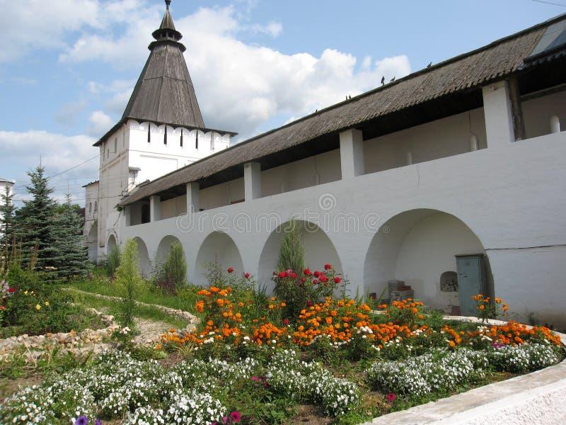 Het klooster van Borovskiy, Rusland royalty-vrije stock fotografie