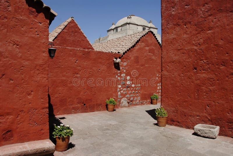 Het klooster van Catalina van de kerstman royalty-vrije stock afbeelding