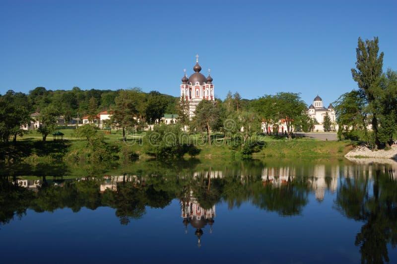 Het klooster van Churchi in Moldova stock afbeeldingen