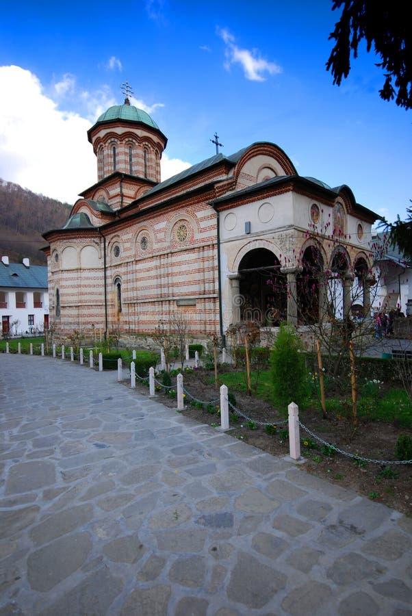 Het Klooster van Cozia royalty-vrije stock foto's